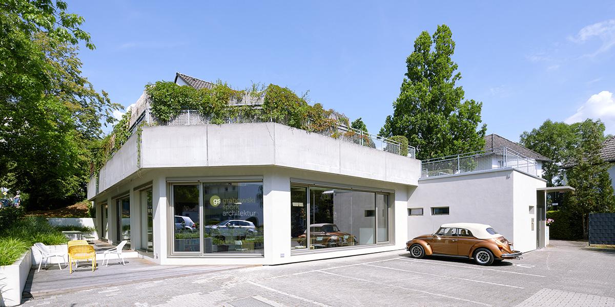 Außenansicht Büro grabowski.spork Lahnstraße